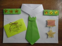 Панно «рубашка с погонами» Diy Paper, Paper Crafts, Pop Out Cards, Origami, Crafts For Kids, Arts And Crafts, Mother And Father, Craft Activities, Fathers Day
