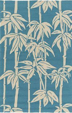 Surya Florence Broadhurst - Bondi Beach Botanical Rugs | Rugs Direct