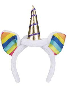 Bandolete de unicórnio arco-íris para adulto