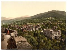 Badenweiler, Black Forest, Baden, Germany