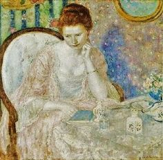 It's About Time: Paintings of women at their mirrors by American Frederick Frieseke 1874-1939