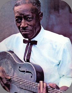 Legendary Blues artist Son House photographed during the 1960s.