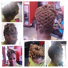 ***Try Hair Trigger Growth Elixir*** ========================= {Grow Lust Worthy Hair FASTER Naturally with Hair Trigger} ========================= Go To: www.HairTriggerr.com =========================     Cute Basketweave Loc Updo!!
