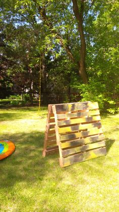 Obstacle course for the kids