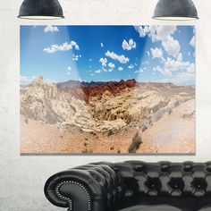 Valley of Fire Landscape Panorama - Landscape Glossy
