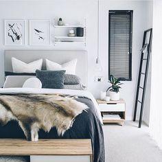 Een heerlijke slaapkamer om in weg te dromen door @oh.eight.oh.nine #ilovemyinterior