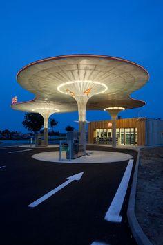 gas station : galanta slovakia