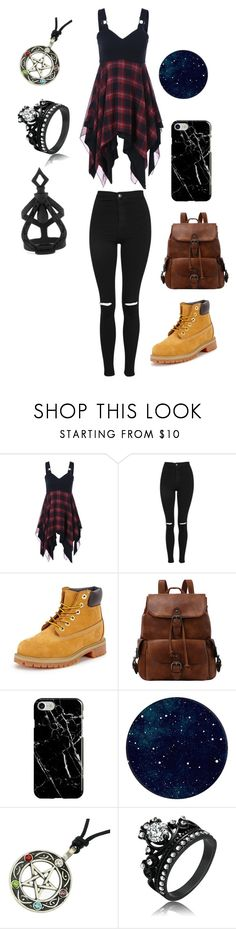 """""""In the mood look"""" by bethm2109 on Polyvore featuring Topshop, Timberland, Recover and The Rogue + The Wolf"""
