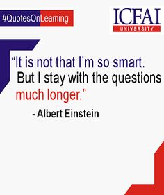 Problems don't offer easy solutions. We should be able to find solutions if we persist with the problems for longer.  #Learning #AlbertEinstein