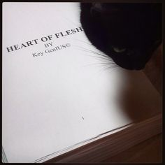 Heart of flesh... English version and my Poto. Good combo emoji let's start the Final editing of 490 pages ... emoji #heartofflesh #IanEmotion #love #books #book #read #reading #reader #page #pages #paper #instagood #kindle #nook #library #author #bestoftheday #bookworm #readinglist #love #photooftheday #cat #plot #climax #story #literature #literate #stories #words #text