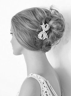 my hairpin for the wedding