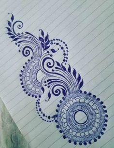 Tattoo mandala design inspiration henna mehndi 15 ideas for 2019 Floral Henna Designs, Mehndi Designs Book, Modern Mehndi Designs, Mehndi Design Photos, Bridal Henna Designs, Simple Mehndi Designs, Mehndi Designs For Hands, Henna Tattoo Designs, Flower Tattoo Designs