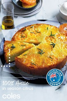 Looking for delicious dishes to share? These recipes from Curtis Stone are all made using 100% Aussie-grown citrus from Coles. They're just the thing to brighten up your winter. Wine Recipes, Baking Recipes, Great Recipes, Bow Recipe, Citrus Cake, Olive Oil Cake, Food Now, Sponge Cake Recipes, Gluten Free Baking