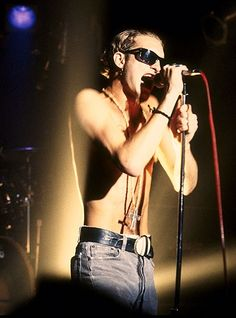Layne Staley, Alice in Chains in Los Angeles, 1991.