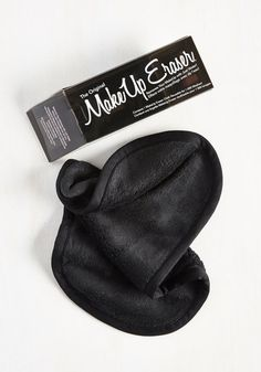 Not a Mascara in the World Makeup Remover Cloth in Black - Black, Spring, Good, Black, Solid, Travel, Variation, Gals