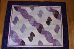 Purple Custom Quilt by ERA Boutique by ERABoutique1 on Etsy, $225.00