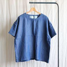 テンセルデニムTシャツ #indigo