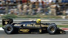1985 Lotus 97T - Renault (Ayrton Senna)