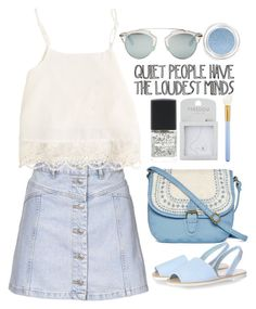 """#165 quiet people have the loudest minds"" by theyoumi ❤ liked on Polyvore featuring Topshop, Swell, T-shirt & Jeans, Lane Bryant, Glamorous, MAC Cosmetics, Givenchy, Christian Dior, women's clothing and women"