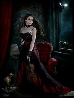 a arte de esther puche is part of Gothic fantasy art - A arte de Esther Puche GothicFantasy art Dark Gothic Art, Gothic Artwork, Gothic Fantasy Art, Fantasy Women, Fantasy Artwork, Final Fantasy, Goth Art, Dark Beauty, Gothic Angel