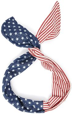 FOREVER 21 American Flag Wire Headwrap