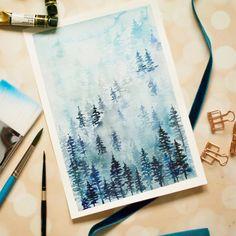 10 Awesome Watercolor Tree Tutorials - Inkstruck Studio