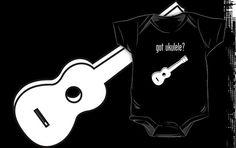 got ukulele? onesie by Samuel Sheats