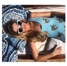 Ready for the summer with the Mini Giovanna White Metallic Studs   Holiday Resort 2015   #YYMiniGiovanna
