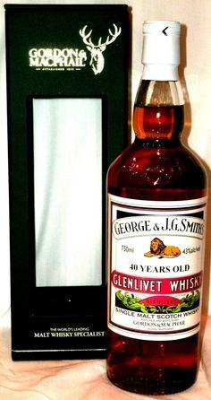 The Whisky Shop - Glenlivet 40 Year Old by Gordon