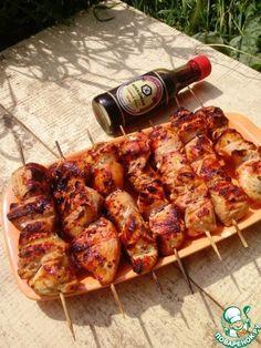 Шашлык по-грузински из курицы - кулинарный рецепт