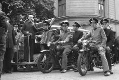 1950 schaffte die Heilsarmee in Schweden zwei Motorräder an, mit denen sie den so genannten Bergmissionsdienst startete.