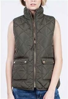 Thread and Supply Wanderer Vest in Olive TSJKX1040-OLIVE