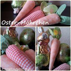 OSTERMÖHREN - KAROTTEN selber nähen... Easter Decoration to sew