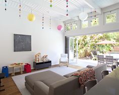 Early Eichler Remodel: Family Room