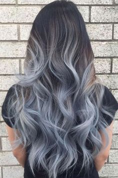 33 Grey Ombre Hair Ideas For 2018