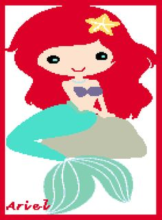 Looking for your next project? You're going to love The Little Mermaid: Ariel Graph by designer Celina86.