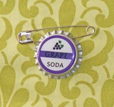 Grape Soda Bottlecap Pin (Inspired by Disney Pixar UP)
