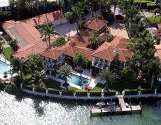 Enrique Iglesias home in Miami