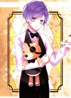 Find images and videos about anime, teddy and diabolik lovers on We Heart It - the app to get lost in what you love. Cute Anime Boy, I Love Anime, Anime Guys, Shugo Chara, Cardcaptor Sakura, Anime Style, Yuma Diabolik Lovers, Lovers Tumblr, Diabolik Lovers Wallpaper