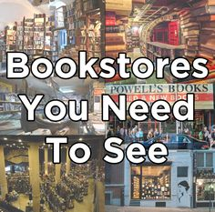17 Bookstores That Will Literally Change Your Life.