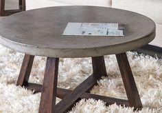 Concepto industrial ideal para espacios pequeños. Color: Concreto / Madera Natural Material: Concreto y Madera.
