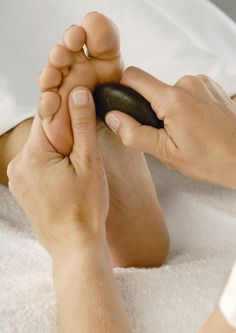 Foot washing healing massage sexual