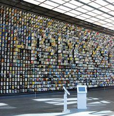 HSBC History Wall and Interactives by cogapp, via Flickr