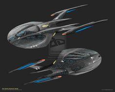 31st Century Enterprise Concept by trekmodeler on DeviantArt