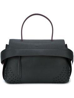 Shop Tod s studded shoulder bag in Michael Meyer Kampen from the world s  best… Tods Bag e86e718137f3d