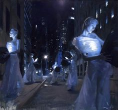 As pinturas foto-realistas com toques de impressionismo de Casey Baugh