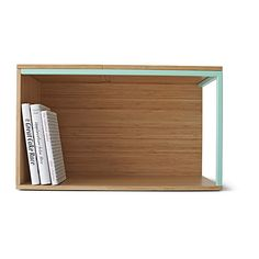 """IKEA PS 2014 Storage module - Hey Cliff, you can do a little """"bookshelf"""" space like this on your nightstand should you wish to.. could sit on top or underneath, maybe there is a way it could attach to the wall and hang above the nightstand."""