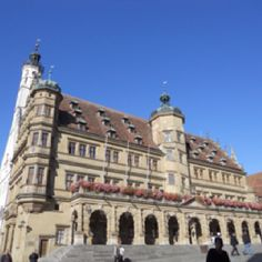 Rothenberg Germany- went to the top of the tower at left...very high!!