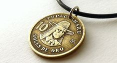 Peruvian Coin necklace Coin jewelry Coins Native by CoinStories