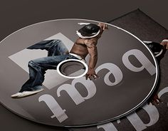 """Check out new work on my portfolio: """"Beat CD-Cover""""… Cd Cover, Working On Myself, New Work, Company Logo, Behance, Graphic Design, Logos, Check, Logo"""